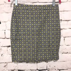 J. Crew Pencil Skirt, Size 0P